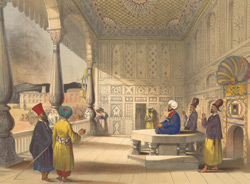 Interior of the palace of Shauh Shujah Ool Moolk, Late King of Cabul